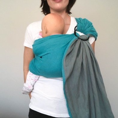 Front carry moby ring sling