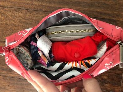 Key West Flamingo Be Quick Jujube Diaper Bag