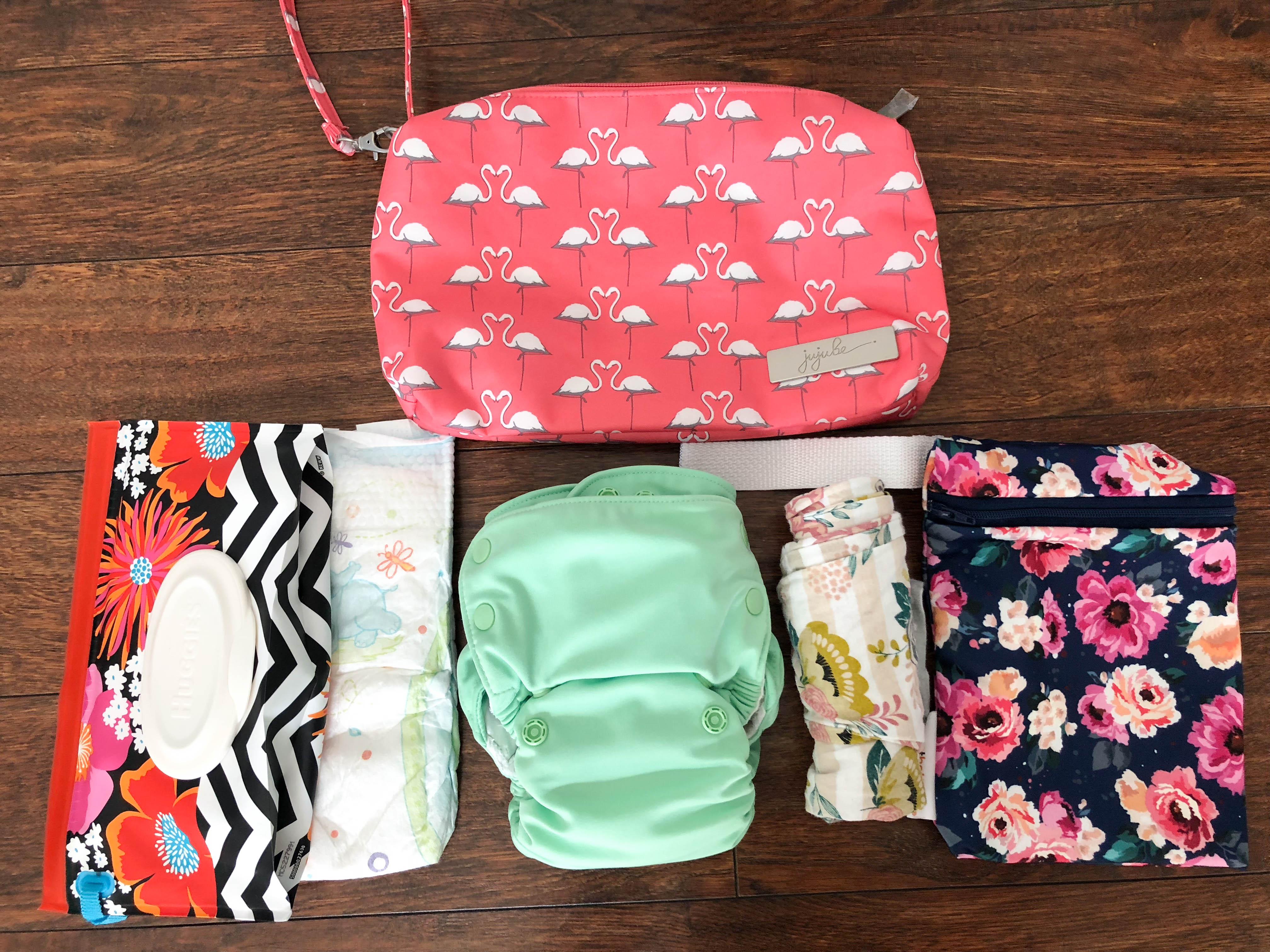 Grovia Julep Smart Bottoms Mini Bag Romper
